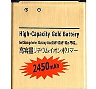 Litio-ion 3.7V 2450mAh Batería para Samsung Galaxy S3 i8190 Mini