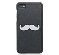 Cartoon Style Mustache Pattern Hard Case for Blackberry Z10
