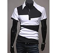 Hombres camiseta Polo de manga corta