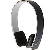 On-Ear Smart Bluetooth Sport Volume Control Stereo Headphone for Iphone Android (Black)
