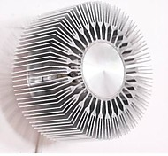3W  Embed LED Round Sunflower Type  Aluminum Projection Wall Lamp (AC220V)