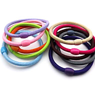 Sweet Style Practical Hair Ties(Random Color)
