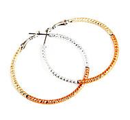 Fashion Hoop Earrings(Random Color)