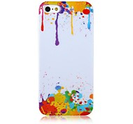 Oil Paint Pattern Back Case for iPhone 5/5S
