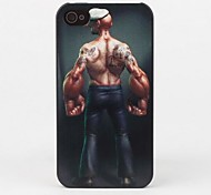 Muscle Man Protective Back Case for iPhone 4/4S