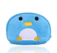 Blue Penguin Style Plush Coin Purse Toy