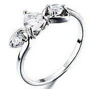 Wedding Style Fashion Silver Ring(Random Size)