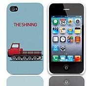Il modello brillante Hard Case con 3 Paia protezioni per iPhone 4/4S