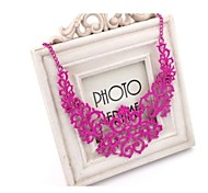 Fashion As Picture Alloy Choker Necklace(Gold,Rose) (1 Pc)