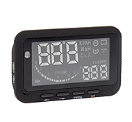 Car Obd Hud Mile/Speed/Battery Voltage Windshield Head Up Display