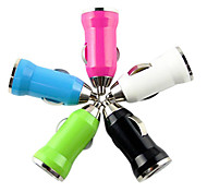 Multicolor Option Car Charger Adapter