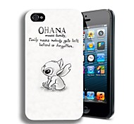 Elonbo J2G Cartoon Dieren Hard Case Cover voor iPhone 4/4S