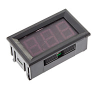 Accurate di tensione tester di pannello con 3 display LED (nero, DC3.2 ~ 30V)