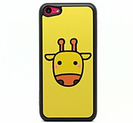 Yellow Deer Pattern  Hard  Case for iPhone 5C