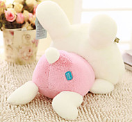 36cm Pink Lying Rabbit Shaped Plush Doll