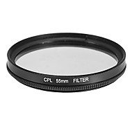 CPL filter voor camera (55mm)