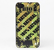 100% Natural Protective Back Case for iPhone 4/4S
