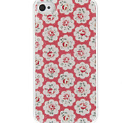 Peony Epoxy Hard Case for iPhone 4/4S