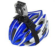 High Intensity ABS Plastic + Nylon Helmet Strap Mount for GoPro Hero/Hero2/Hero3