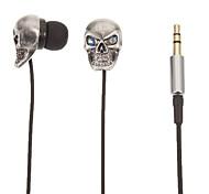 TM01 Schädel-Shaped-Stereo-In-Ear-Kopfhörer (Silber)