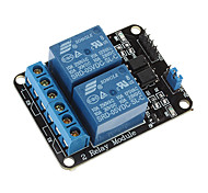 2-way Relay Module Relay Expansion Board with Optocoupler Protection