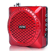 Amoi V22 portátil reproductor de mp3 Altavoz Radio Apoyo U disco Flash