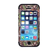 Tree Branch Pattern Protective Silicone Case for iPhone 5 (Assorted Colors)