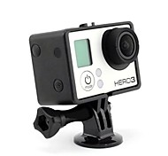 Black Border Plastic Fixed Frame Case for Gopro Hero 3