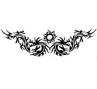5 Stück Drache Wasserdicht Tattoo (4,7 cm * 14,5 cm)
