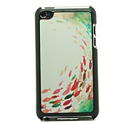 Fish Pattern Hard Case for iPod touch 4