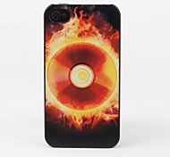 CD on Fire Protective Back Case for iPhone 4/4S