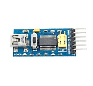 FT232RL USB to Serial 232 TTL Adapter Module for Funduino  (3.3~5V)