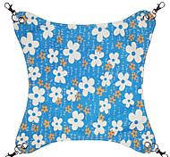 Lovely Flower Pattern Canvas Hammock for Pets Dogs