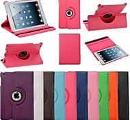 Elonbo J50 360 Degree Rotatable Mat Lines case for iPad mini 3, iPad mini 2, iPad mini (Assorted Colors)