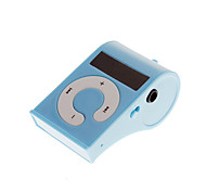 TF Card Reader, mini portátil Whistle Estilo Digital MP3 Player