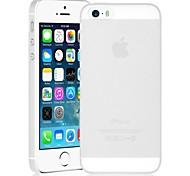 Frosted Transparent PC Hard Case Tasche für iPhone 5/5S