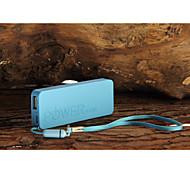 Banco de la energía 6500mAh Mini ultra-delgado portátil para el iphone 6/6 más / 5 / 5s / samsung s4 / s5 / Nota 2
