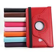 360 degrés de rotation PU cuir Smart Case avec support pour Samsung Galaxy Tab 3 Lite T110 (couleurs assorties)