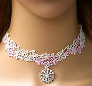 Göttin Charming-weiße Spitze Sweet Lolita Halskette