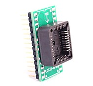 PLCC32-EP512 to DIP28 for MCU Seat and IC Testing Seat Module Adapter