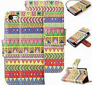 Fashion Pattern PU Leather Magnet Wallet Credit Card Holder Flip Stand Case Cover For  iPhone 5G/5/5S