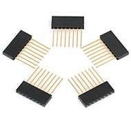 K1209001   2.mm Pitch 8-Pin Male to Female Pin Headers for (For Arduino)
