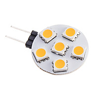 3W G4 LED Spotlight 6 SMD 5050 210 lm Warm White DC 12 V