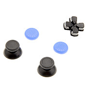 2 PCS Mushroom Caps and 1 PC Cross Key and 2 PCS Thumb Stick Grips for XBOX ONE(Blue)