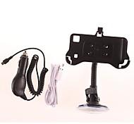 Del sostenedor + USB Charging / Data Cable + Car Charger Set para Samsung i9000