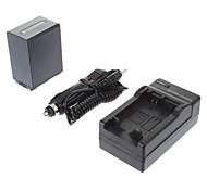ismartdigi-Sony NP-FH100 3900mAh, 7.2V batería de la cámara + cargador de coche para SONY HDR-SR11E SR12E XR100E XR5