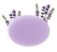 Natural Handmade Lavender Essential Oil Soap Whitening Moisturizing Anti-Acne 100g