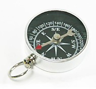Mini Aluminum Compass - Silver