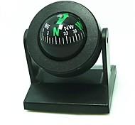 Einstellen Ball Style Car Compass - Schwarz