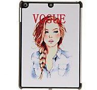 Sexy Girl Pattern PC Hard Case for iPad Air